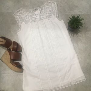Joie Joseba Crochet Dress